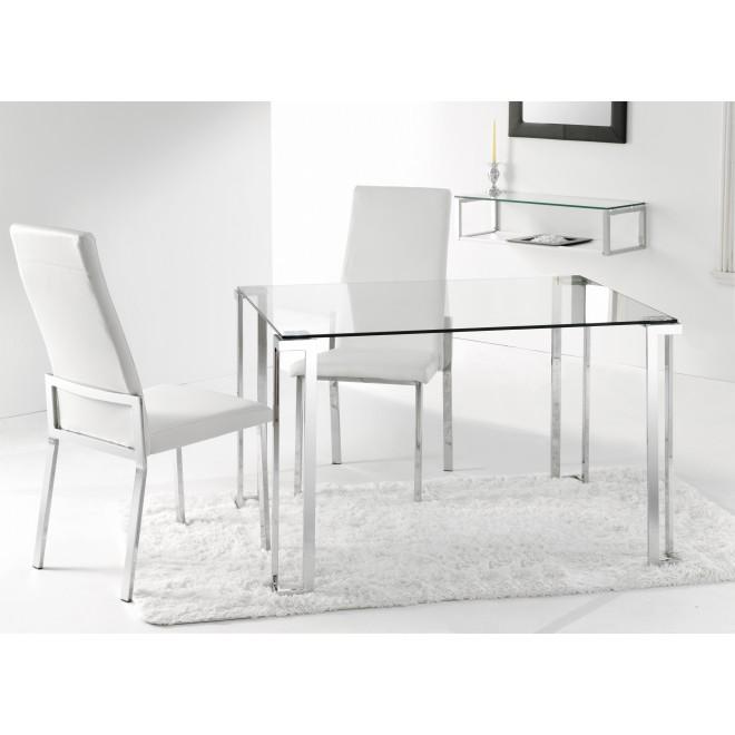 Mesa lim muebles room for Mesa rectangular extensible