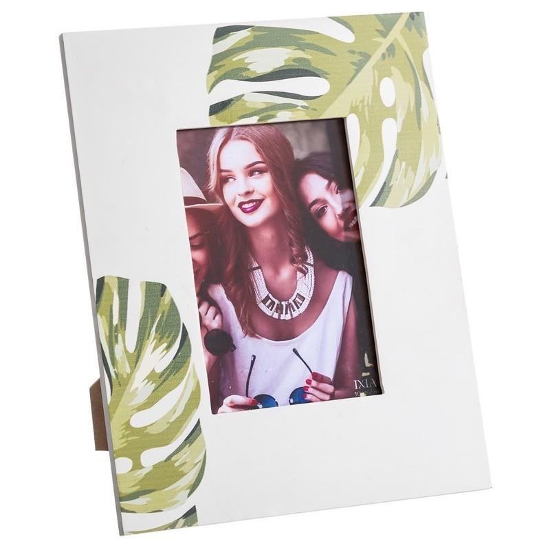 portafotos hojas verdes- 3 tamaños