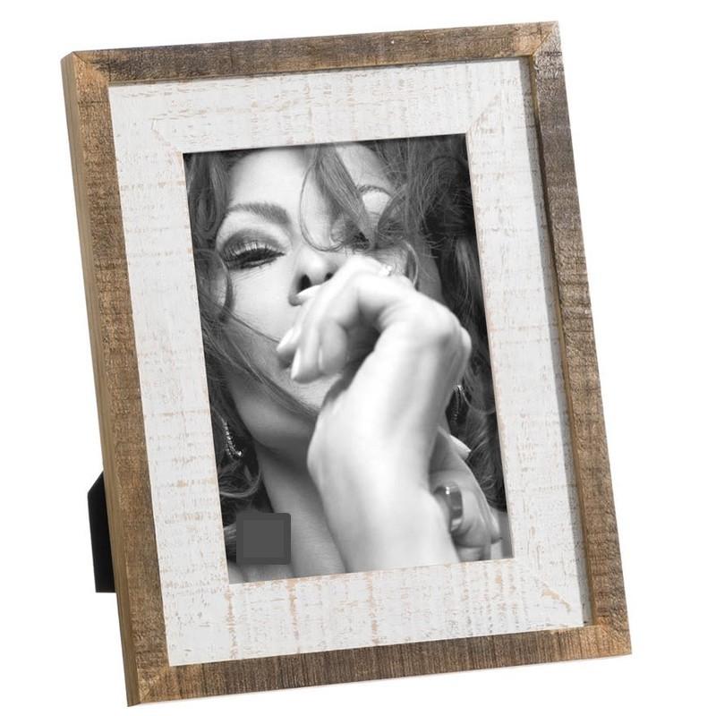 Portafotos blanco-natural13x18