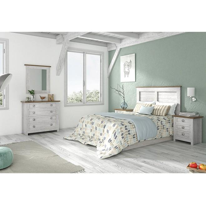 Dormitorio Baku con Cómoda