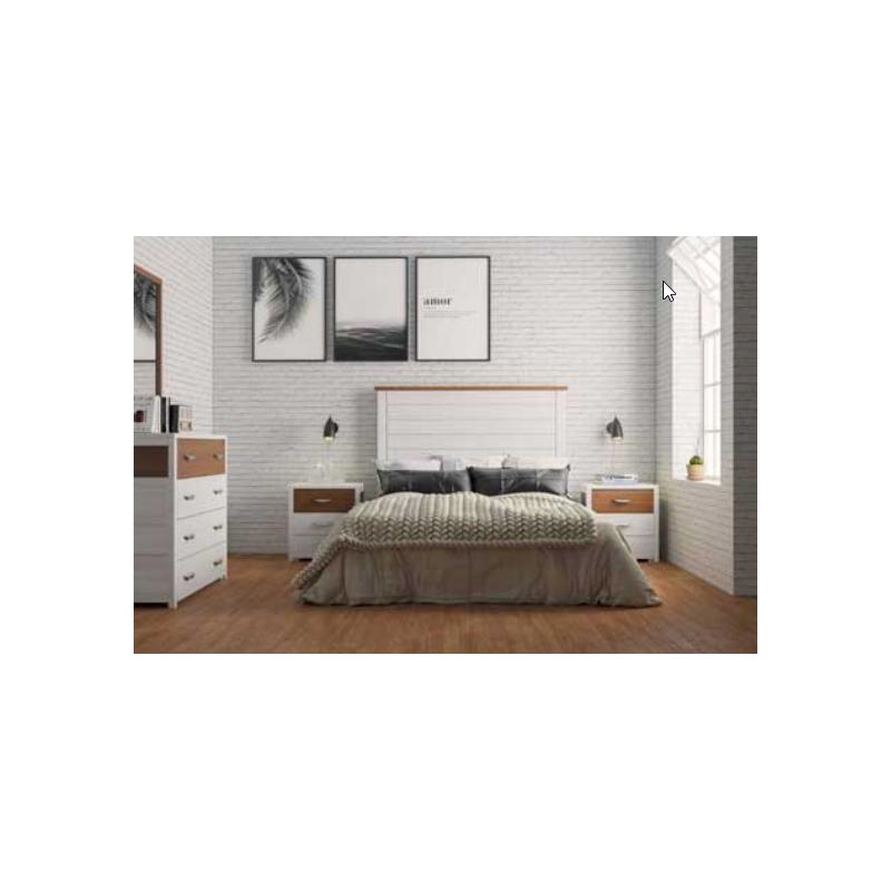 Dormitorio HELIO con Cómoda