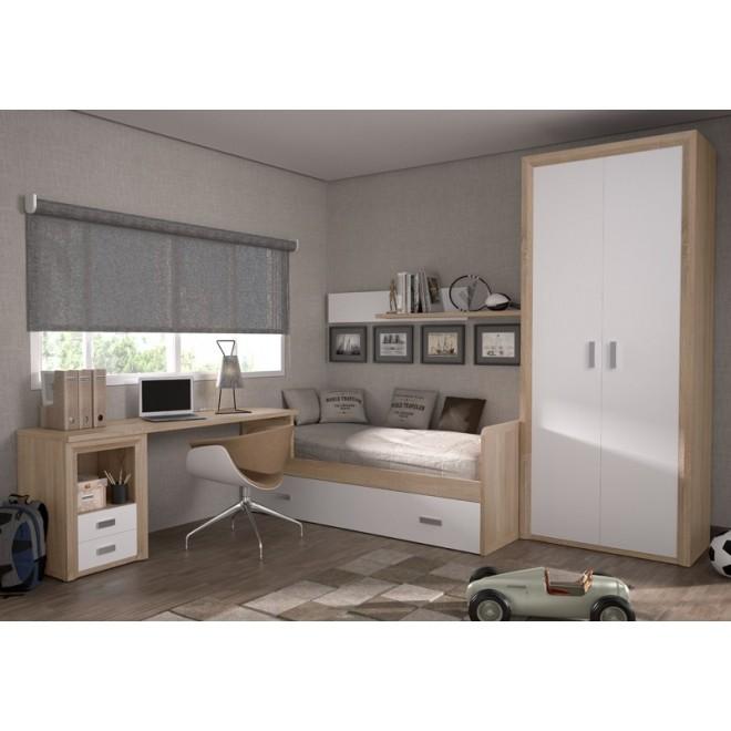 Dormitorio nido suorit con armario muebles room for Dormitorio completo con armario