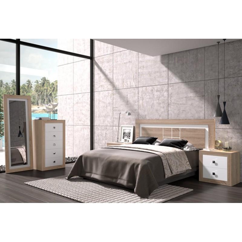 Dormitorio schiuma con sinfonier