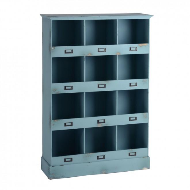 Mueble casillero azul muebles room - Mueble casillero ikea ...