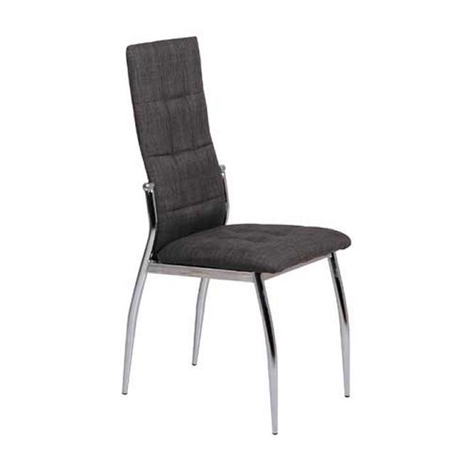 Silla kommis gris oscuro muebles room for Sillas salon gris