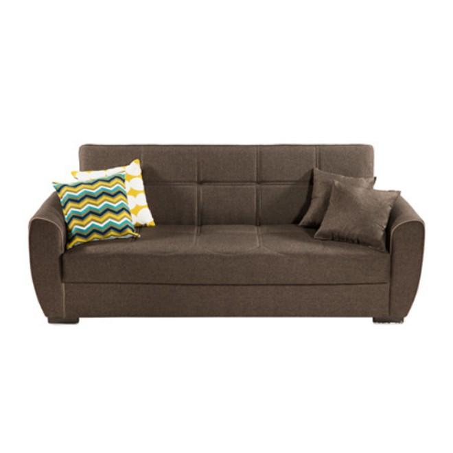 Sof cama click clack marr n muebles room for Sofa cama de click clack