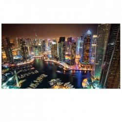 CUADRO CRISTAL DUBAI SKYSCRAPERS