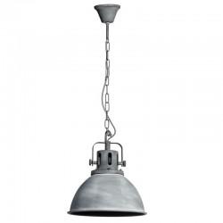 Lámpara techo gris metal