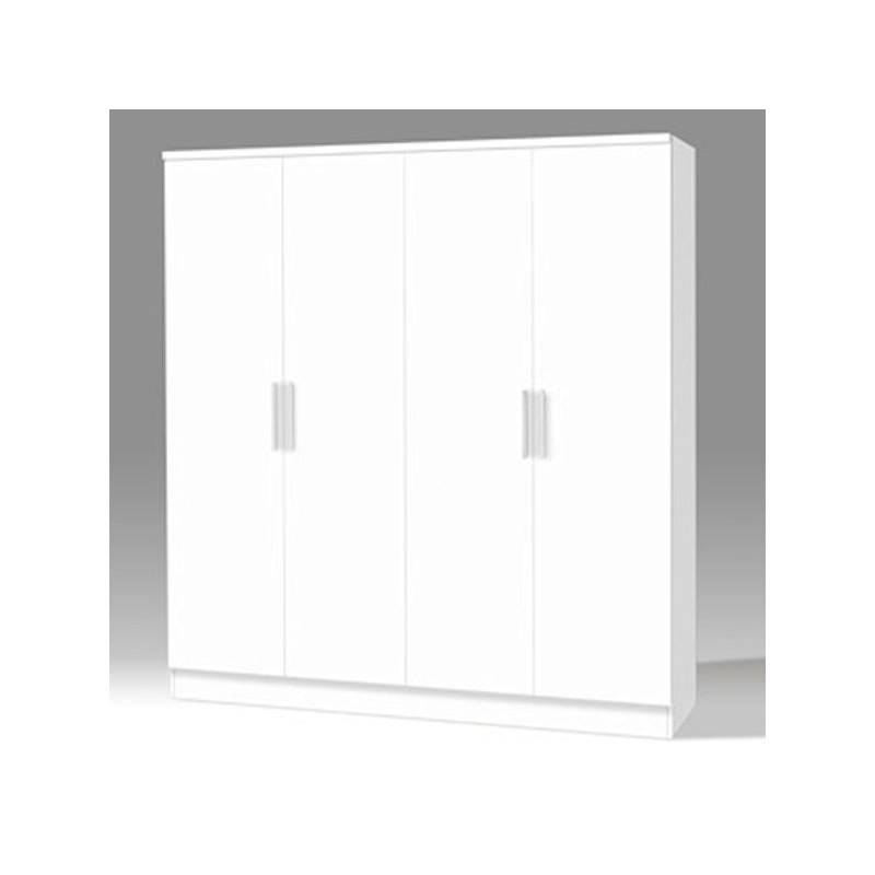 Armario Blanco disponible en 2, 3 y 4 puertas
