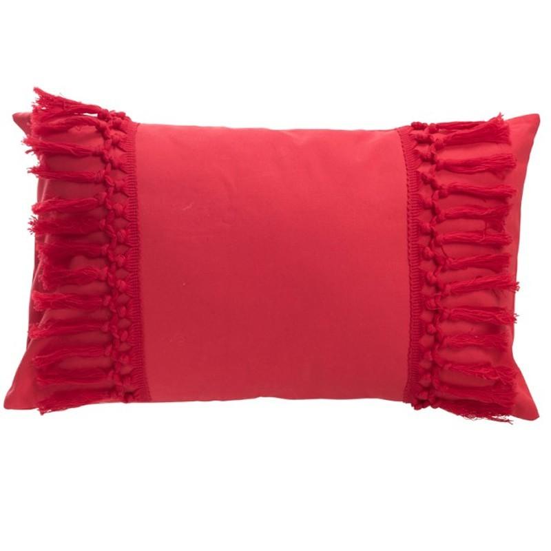 Cojin borlas rosa muebles room for Borlas para muebles