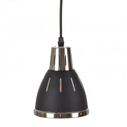 Lámpara de techo negro metal 16 cms