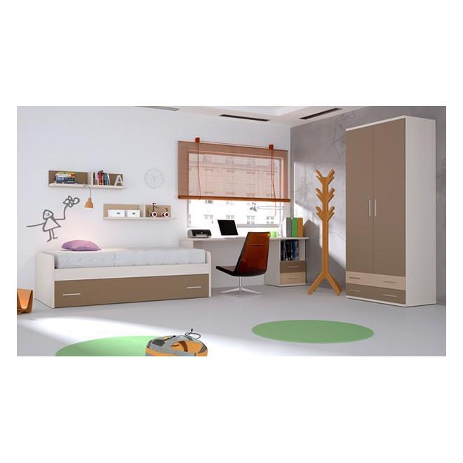 Dormitorio completo cuco muebles room for Dormitorio completo