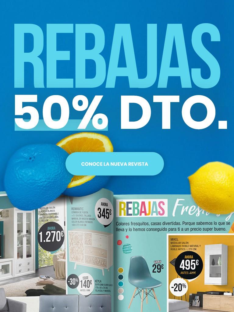 Nueva revista · Rebajas Julio